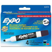 Sanford® Expo Low Odor Dry Erase Marker, Bullet Point, Black/Blue/Green/Red Ink