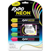 Sanford® Expo Neon Dry Erase Marker, Bullet Tip, Neon Yellow/Blue/Green/Orange/Pink, 5/Pack