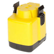 Bayco Replacement Battery 14.4V Rechargeable Fluorescent Lights, Yellow