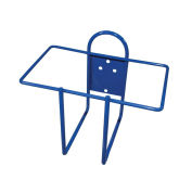 Wall Bracket; Rectangular 1 Gallon, Blue - Pkg Qty 12
