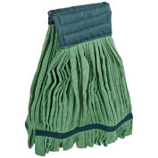 Impact® Microfiber Tube Wet Mop - Green, Large, Lf0006 - Pkg Qty 12