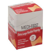 Medique 61773 Flexible Extra Long Fingertip Bandage, Extra Heavy Weight, 25/Box