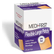 Medique 61873 Woven Adhesive Bandage, Extra Heavy Weight, 2 x 3, 25/Box