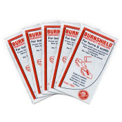 Medique 44669 BurnAid Burn Treatment, Unit Dose Packet, 5/Box