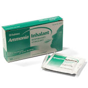 Medique 22612 Ammonia Inhalant Wipes, 10/Box