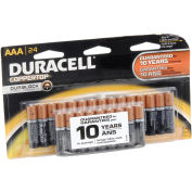 Coppertop AAA Batteries W/ Duralock Power Preserve - Pkg Qty 24