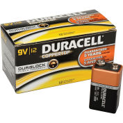 Coppertop 9V Batteries W/ Duralock Power Preserve - Pkg Qty 12