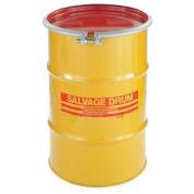 Skolnik 10 Gallon Open Head Carbon Steel Salvage Transport Overpack Drum, HM1002