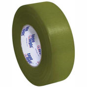 "Duct Tape, 2""x60 yds, 10 Mil, Olive Green, 3/PACK"