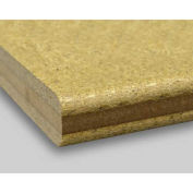 """Shop Top, Worksurface, 3/8"""" Radius Front Edge Top And Bottom, 72""""W X 24""""D X 1-3/4""""H"""
