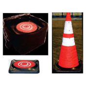"Dicke Safety CC5B  28"" Collapsible Cone with Storage Bag, 5/PK"