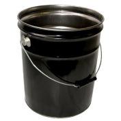 Vestil PAIL-STL-RI, 5 Gallon Open Head Steel Pail - Rust Inhibitor Lining