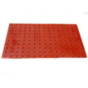 UltraTech 0768 Ultra-ADA Pad, Safety Red, Retrofit, 2' x 5'
