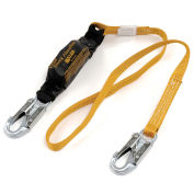 Titan™ by Honeywell Pack-Type Shock-Absorbing Lanyard, 6', Orange