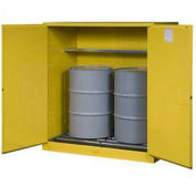 "RELIUS SOLUTIONS Upright Cylinder Cabinet - 60x32x65"" - 10-20 Cylinders - Aluminum - Set Up"