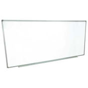 Magnetic Dry Erase White Board - Steel Surface - Aluminum Frame - 96 x 40