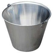 Vestil BKT-SS-325, Stainless Steel Bucket 3-1/4 Gallon Capacity