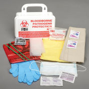 Pac-Kit Small Industrial Bloodborne Pathogens Kit with CPR Mask