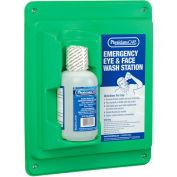 PhysiciansCare Wall Mount Eye Flush Station, Single, 24-000, 16 Oz. Bottle