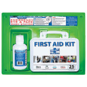 Physicians Care #24-500 Eye Flush Solution with First Aid Kit