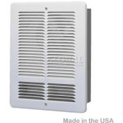 King Forced Air Wall Heater, 1500W, 240V, White