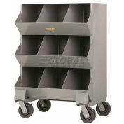 """Little Giant® Heavy Duty Steel Mobile Storage Bins, 32""""L x 20""""W x 45-1/2""""H"""