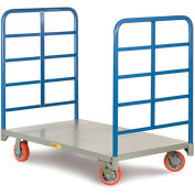 "LITTLE GIANT Platform Trucks with Lattice Handles - 60""Lx24""W Deck"