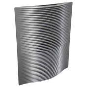 Berko® SmartSeries® Architectural Digital Wall Heater, 120V, 1800W, Aluminum