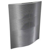 Berko® SmartSeries® Architectural Digital Wall Heater, 240V, 4000W, Aluminum