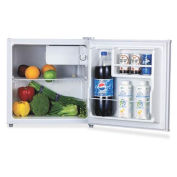 Lorell 1.6 Cu. Ft. Compact Refrigerator, White