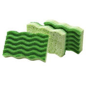 "Medium Duty Sponge 4-1/2"" x 3"", 3 Pack - Pkg Qty 8"