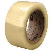 Carton Sealing Tape for Recycled Boxes, 48mm x 100m, Clear - Pkg Qty 36