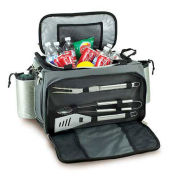 Vulcan Tailgating Cooler and Propane Barbecue Set