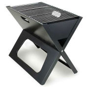 X-Grill Folding Portable Charcoal BBQ Grill with Carry Tote