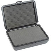 """Black Plastic Protective Storage Cases with Pinch Tear Foam 10""""x7-1/2""""x2-3/4"""""""