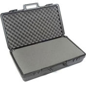 """Black Plastic Protective Storage Cases with Pinch Tear Foam 27-1/2""""x16""""x7"""""""