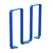 Linguini Steel Bike Rack, 5 Bike Capacity, Blue