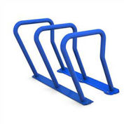 Surf Steel Bike Rack, 6 Bike Capacity, Blue