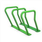 Surf Steel Bike Rack, 6 Bike Capacity, Green