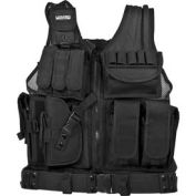 """Loaded Gear VX-200 Tactical Vest (Left Handed Use), 22""""L x 38-50""""W"""