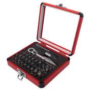 Sunex Tools 38 PC. Mini Ratchet & Bit Set W/ Aluminum Case, 9726