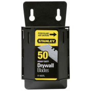 Stanley Drywall ASB Utility Blades with Dispenser, 50 Pack, 11-937L