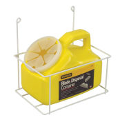 Blade Disposal Container W/ Wire Rack