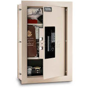 "Mesa Safe Residential Safes Expandable Depth Wall Safe, 15""W x 3-1/4-6""D x 22-1/8""H"
