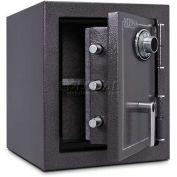 "Mesa Safe Burglary & Fire Safe Cabinet 2 Hr Fire Rating, Combo Lock, 17-1/4""Wx18-3/4""Dx20""H"