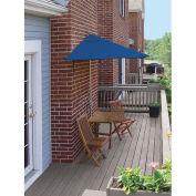 TERRACE MATES® VILLA Economy 5 Pc. Set W/ 7.5 Ft. Umbrella, Blue Olefin