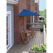 TERRACE MATES® CALEO Economy 5 Pc. Set W/ 7.5 Ft. Umbrella, Blue Olefin