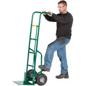 "60"" Tall Hand Truck with Foot Kick, 10"" Pneumatic"