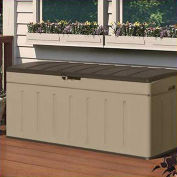 "Suncast Deck Box 99 Gallon, 52""L x 26""W x 22""H"