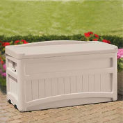 "Suncast Deck Box, 73 Gallon, 46""L x 23-5/8""W x 25-1/2""H"